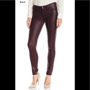🔥SALE PAIGE Verdugo Ultra SkinnyJeans in WineLuxe